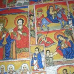Wall Paintings at monastery of Ura Kidane Mihret church
