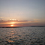 Sunset on Lake Tana, picture by Eyassu